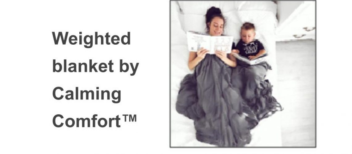 Weighted blanket by Calming Comfort™